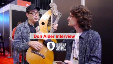 Interview Don Alder pendant le NAMM 2016