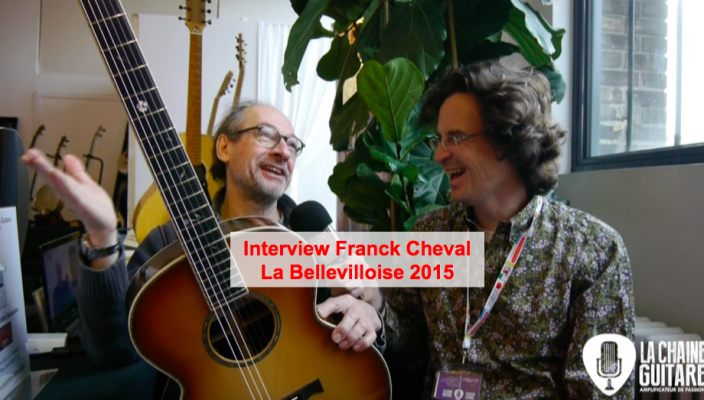 Interview Franck Cheval au salon de la Bellevilloise 2015