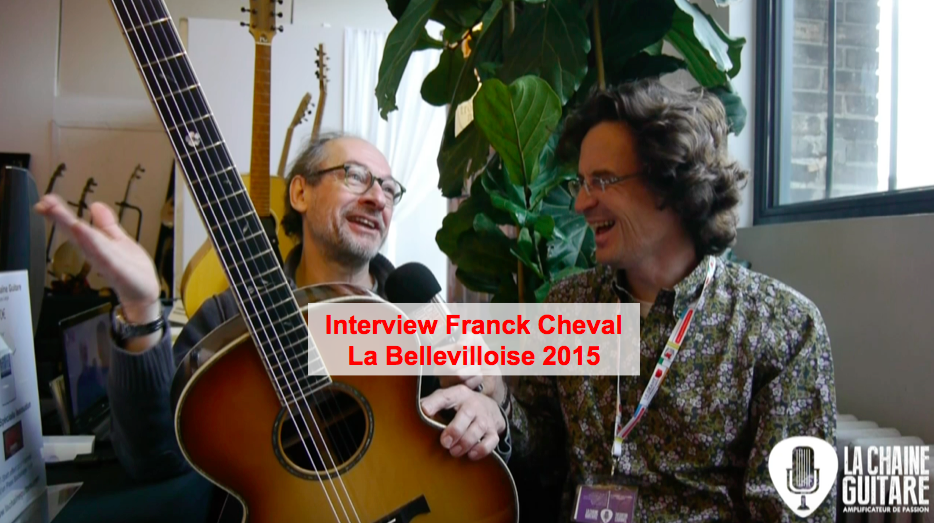 Interview Franck Cheval au salon de la Bellevilloise 2015