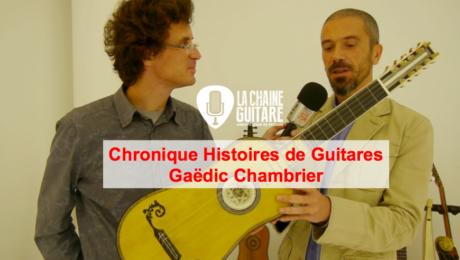 Les instruments du XVIème au XVIIIème siècle - Histoires de Guitares de Gaëdic Chambrier
