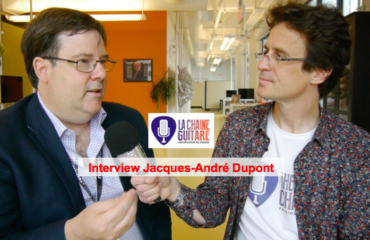 Interview Jacques-André Dupont, grand amoureux de la guitare