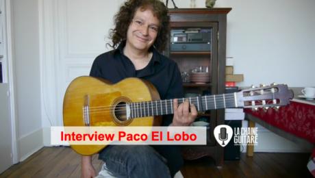 Interview Paco El Lobo : guitariste et chanteur de Flamenco