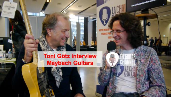 Interview Toni Götz pour tout savoir sur Maybach Guitars