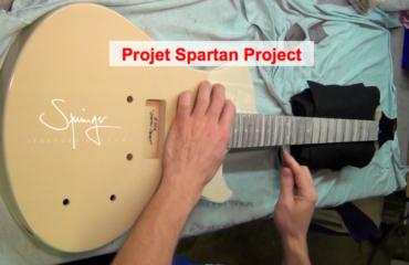 #14 Projet Spartan @SpringerGuitars - Frettage