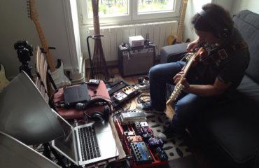 Le jeu de guitare de Philippe Figueira