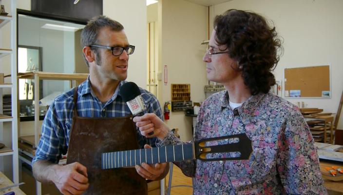 Chronique Andy Powers : le manche Taylor Guitars (VOST)