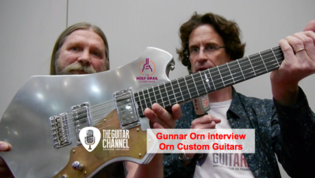 Interview Gunnar Orn luthier icelandais au @HolyGrailGuitar show