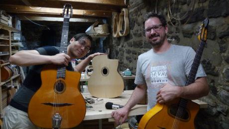 Denis Chang (musicien) et Martin Tremblay (luthier) - La Chaîne Guitare