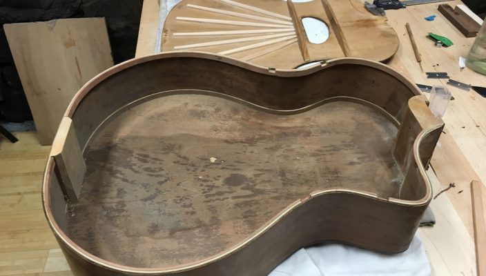 Restauration lutherie ancienne par Martin Tremblay (luthier)