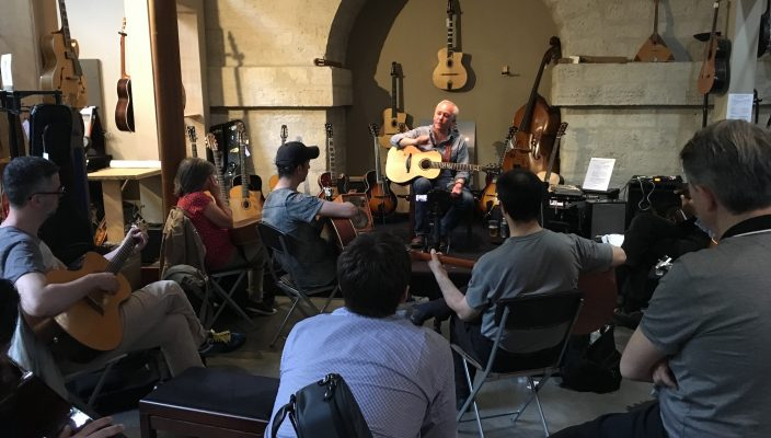 Masterclass Fingerpicking Michel Haumont