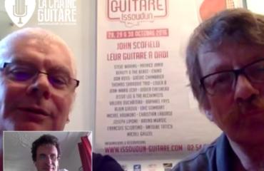 Interview Alex Costanzo et Gérard Sadois pour tout savoir sur le Festival Guitare Issoudun 2016
