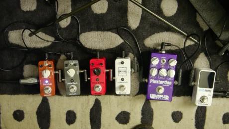 Test pédales Mooer : Trescab, Shimverb, Ana Echo, Micro Looper