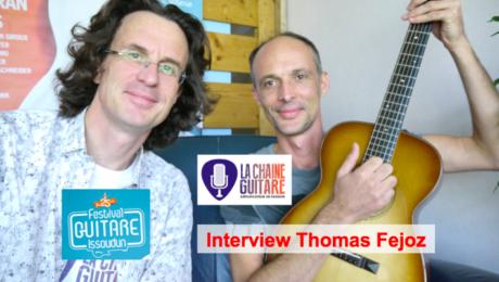Interview luthier Thomas Fejoz - Festival Guitare Issoudun 2014