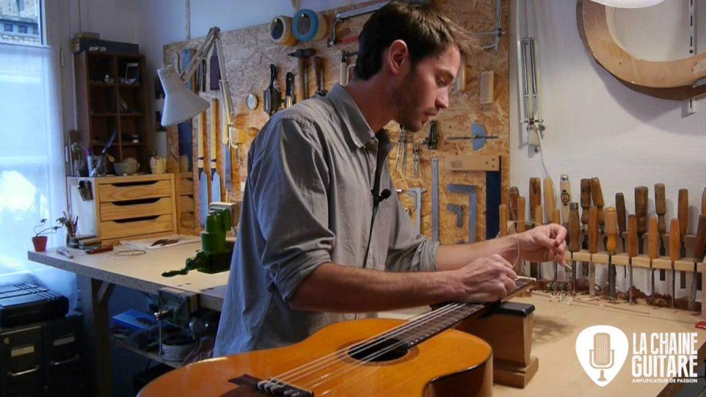 Le luthier Adrien Collet - La Chaîne Guitare