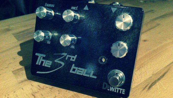 Dewitte Wire : une nouvelle version de la pédale The 3rd Ball