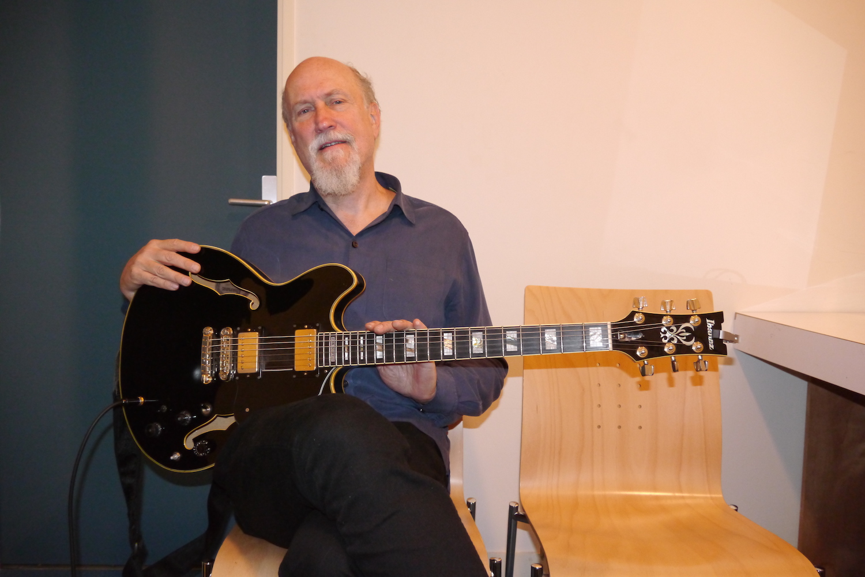 Interview John Scofield, guitare à la main à Issoudun