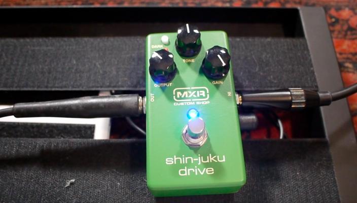 MXR Shin-Juku - Test pédale d'overdrive à la Dumble
