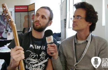 Interview luthier Sébastien Berlinet : Mélopée Guitares