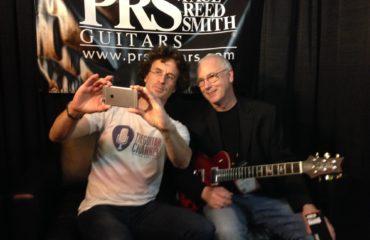 Interview Paul Reed Smith, guitare à la main au NAMM 2017