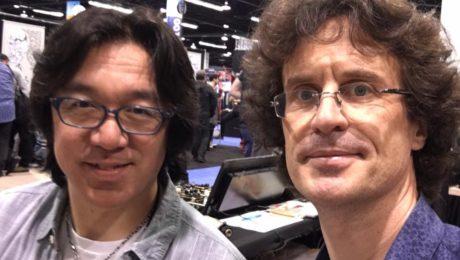 Interview Tomo Fujita au NAMM 2017