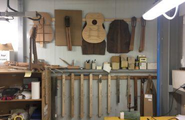 Interview des maitres luthiers de chez Alhambra - Javier Mengual et José Margarit
