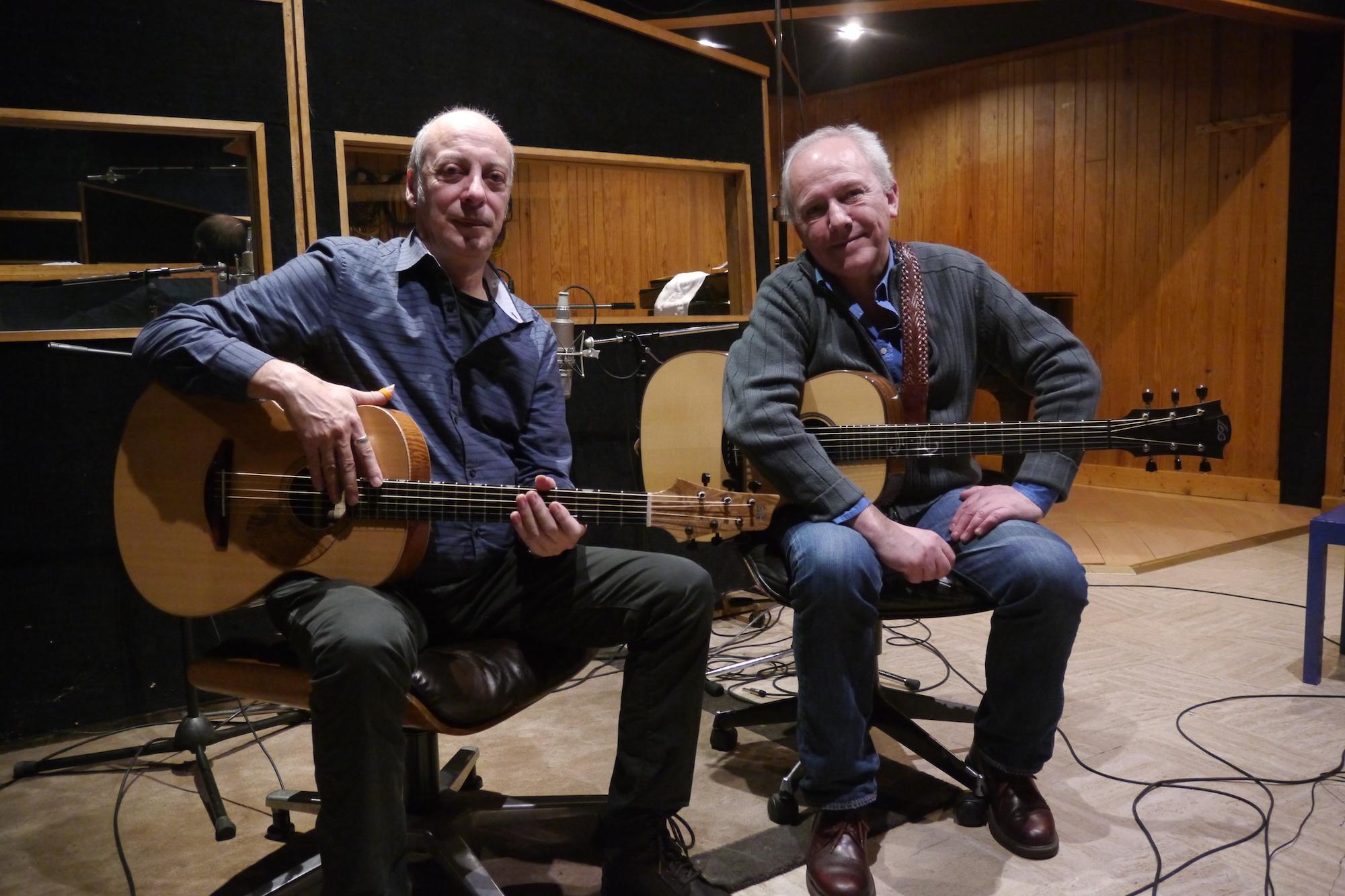 Interview au studio Marcadet de Jean-Luc Thievent et Michel Haumont