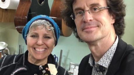 Interview luthier Kathy Wingert dans son atelier de Los Angeles