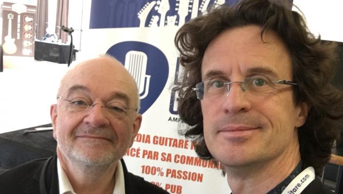 Interview de Gérard, un des deux luthiers des Guitares Chatelier