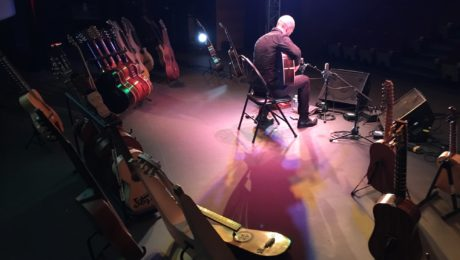 Interview Gaëdic Chambrier guitare à la main - En plein Vortex !