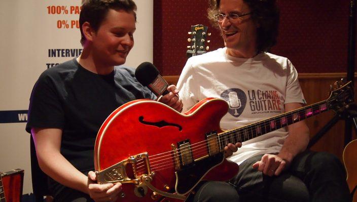 Guitares d'Exception - La Gibson ES-355 reconstruite de Noel Gallagher d'Oasis