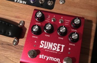 Test Pédale - Double overdrive/booster Sunset Strymon