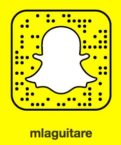Snapcode mlaguitare - Cyriaque