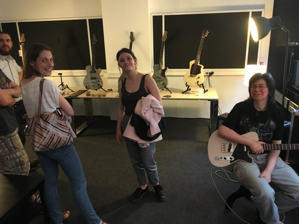 Débrief Soirée Matos 01/06/17 : amplis Vanflet, guitares Girault