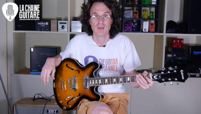 Test Guitare - Epiphone Casino ES-330