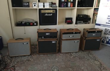 Présentation privée amplis Kelt au showroom La Chaîne Guitare