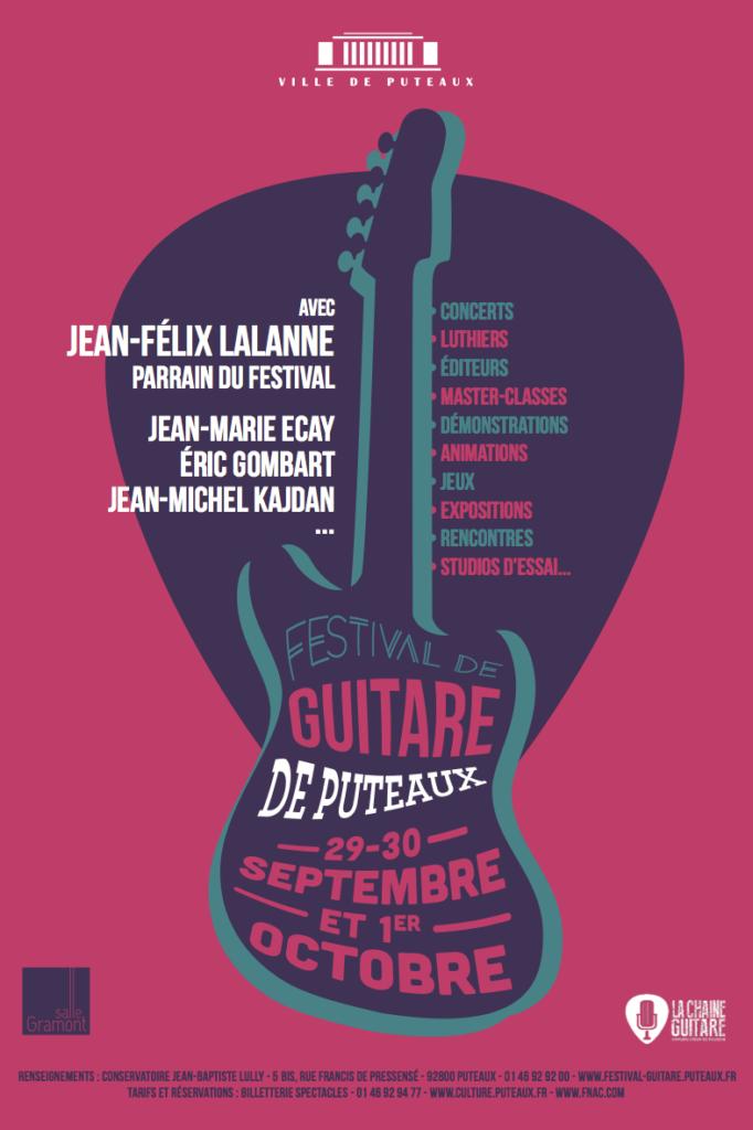 Festival de Guitare de Puteaux 2017