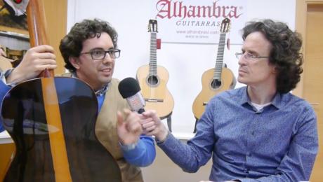 Chronique Alhambra : présentation d'une guitare en Ziricote