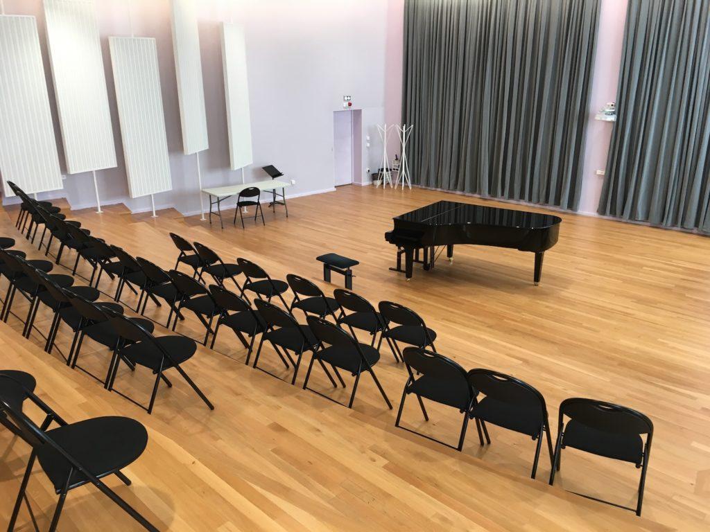 Festival de Guitare de Puteaux 2017 - Salle des concerts de démonstration