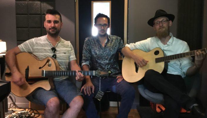 Interview Echo d'Artistes : trois luthiers pour une même philosophie de la guitare