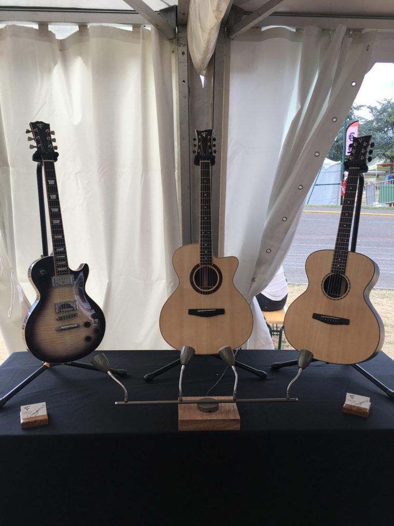 Guitares du luthier Stéphane Fleuret - Guitare en Scène 2017