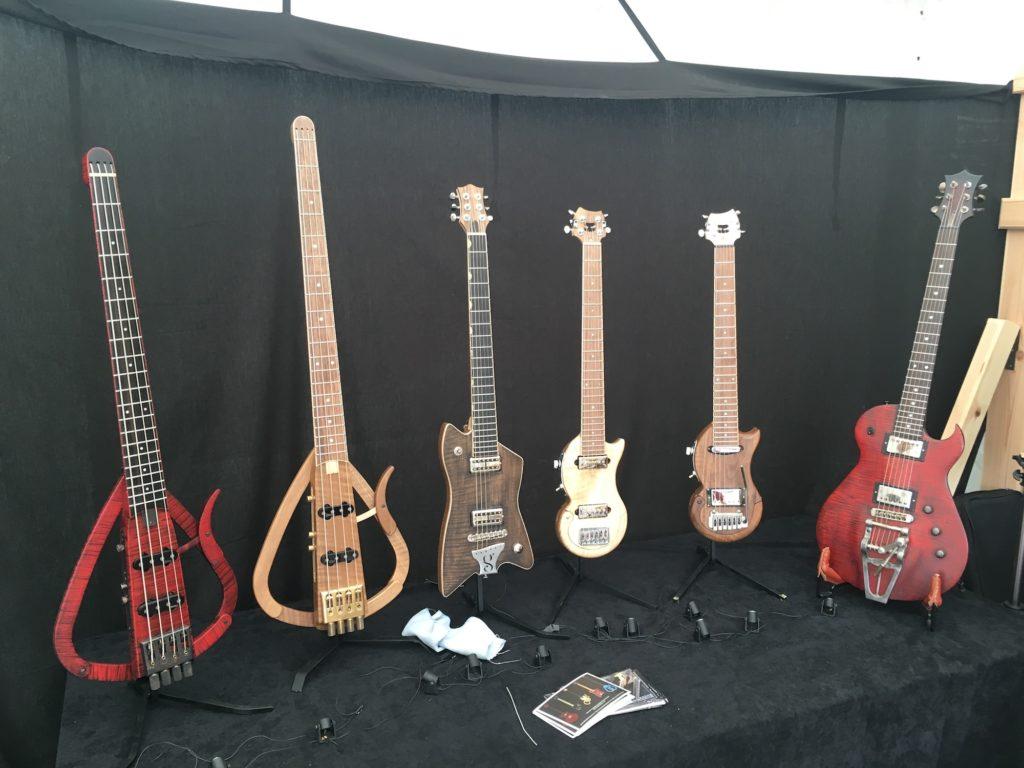 Guitares luthier Sébastien Gavet - Guitare en Scène 2017