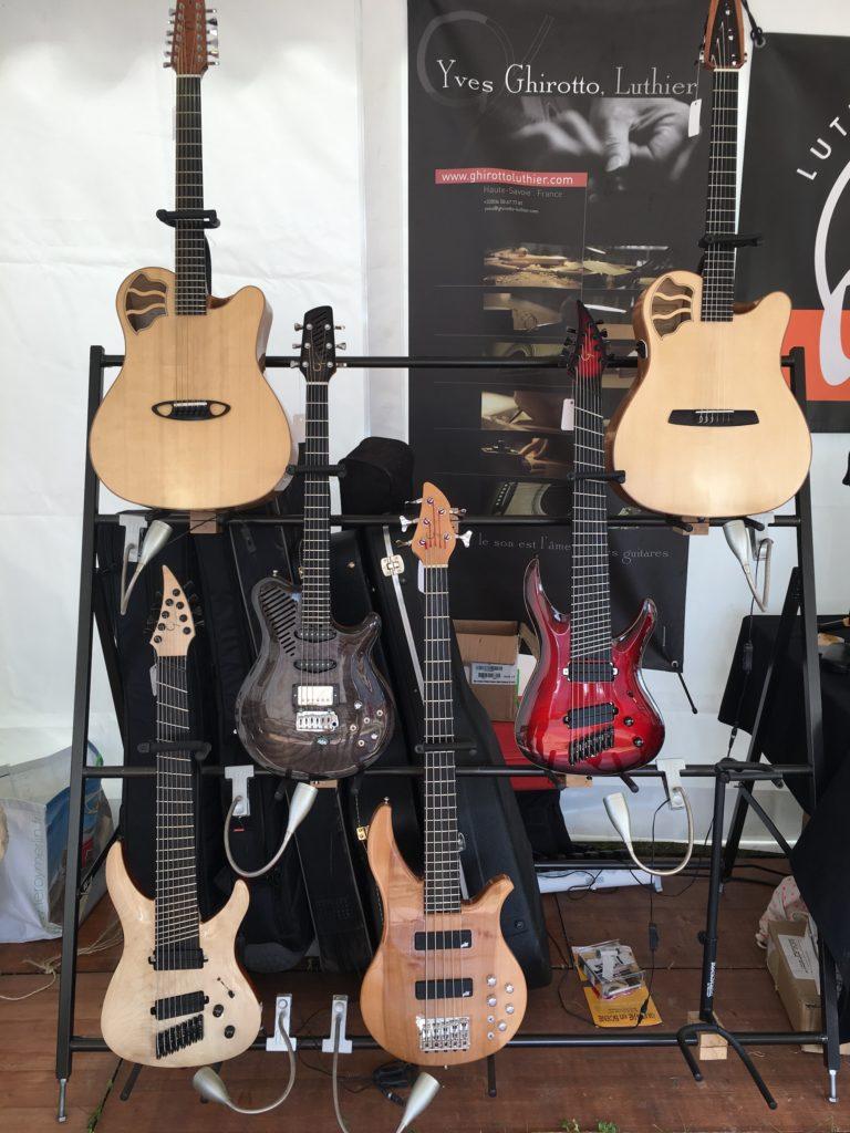 Guitares luthier Yves Ghirotto - Guitare en Scène 2017