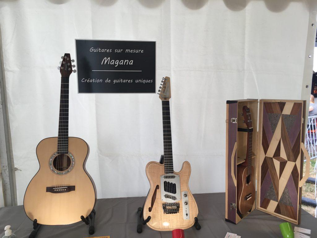 Guitares luthier Lucien Magana - Guitare en Scène 2017