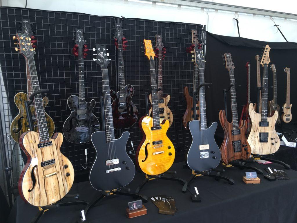 Guitares luthier Yves Mion - Guitare en Scène 2017