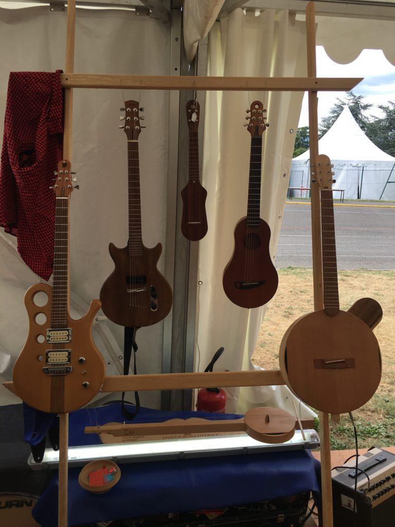 Guitares luthier Rico Priet (Imago Guitares) - Guitare en Scène 2017