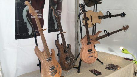Interview luthier Laurent Huchard - Guitare en Scène 2017