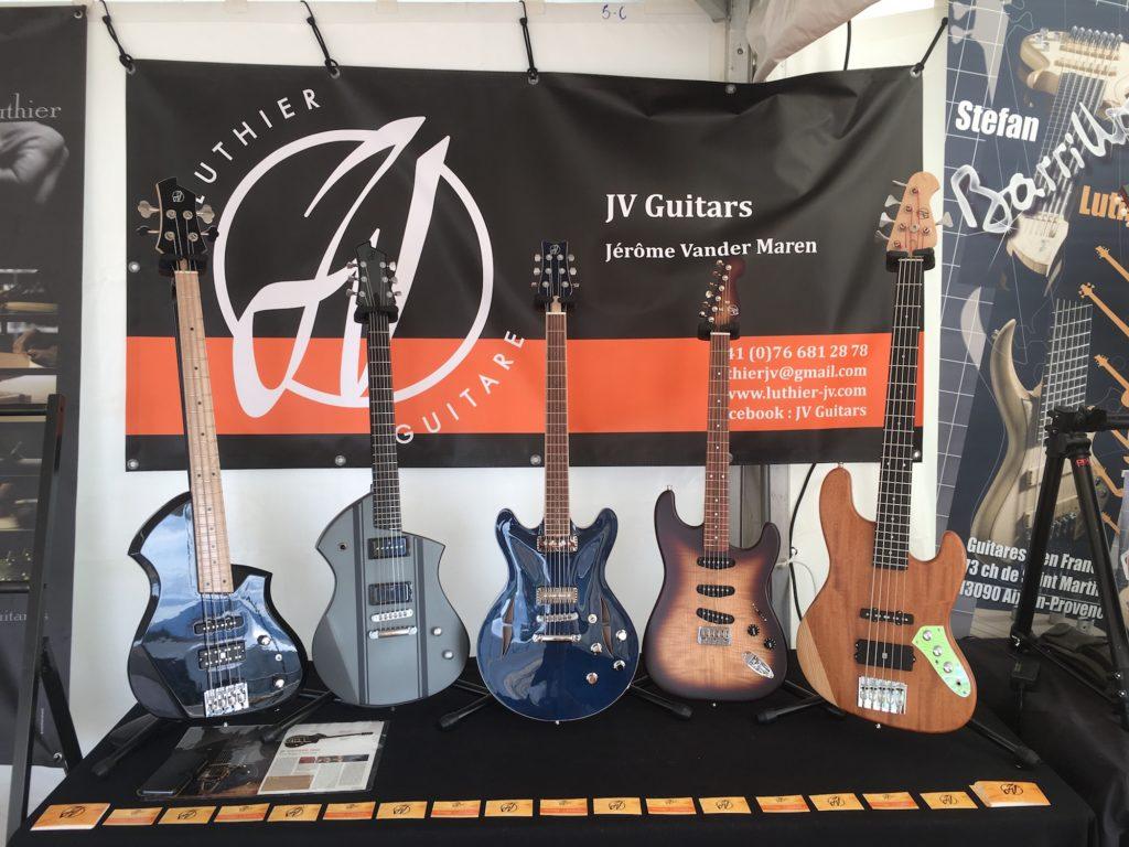 Guitares luthier Jérôme Vander Maren - Guitare en Scène 2017