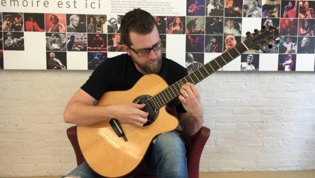 Interview Justin Saint-Pierre, guitariste Fingerstyle du Québec