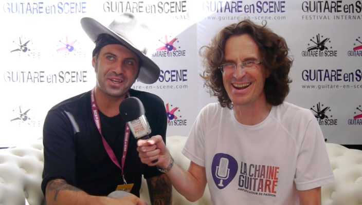 Interview Manu Lanvin - Guitare en Scène 2017