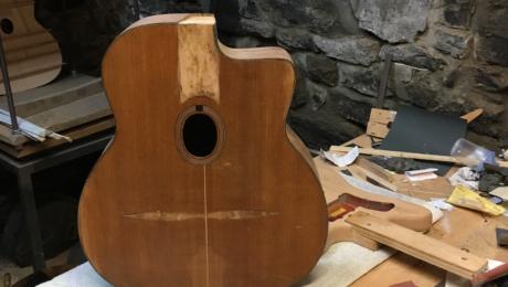 Luthier Martin Tremblay - Restauration Busato et Jazzmaster